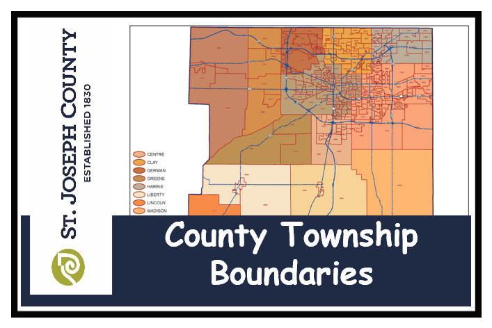 County Voter Precinct Township Map Image